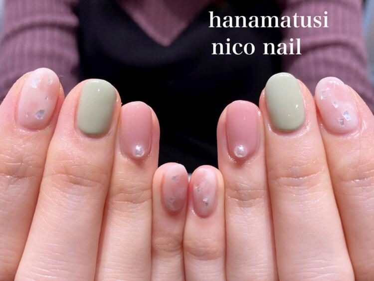 浜松市ネイル・ニコネイル、春~初夏に人気のパステルカラーネイル!
