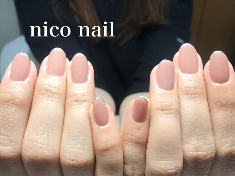 マオジェルワンカラーネイル 薄色ピンク B